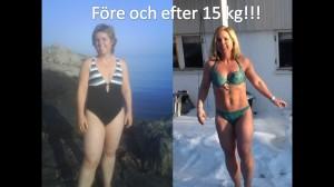 före och efter 15pg